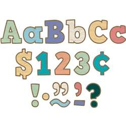 "Painted Wood 4"" Letters Combo Pack Bold Block, TCR8820"