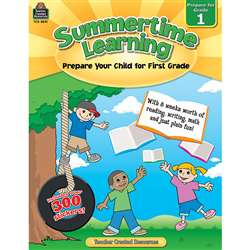 Summertime Learning Gr 1 By Teacher Created Resources