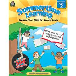 Summertime Learning Gr 2, TCR8842