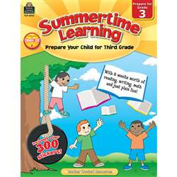 Summertime Learning Gr 3 By Teacher Created Resources