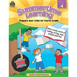 Summertime Learning Gr 4, TCR8844