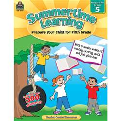 Summertime Learning Gr 5, TCR8845