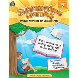 Summertime Learning Gr 7, TCR8847