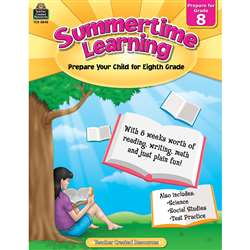 Summertime Learning Gr 8, TCR8848