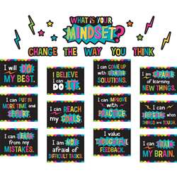 What Is Your Mindset Bulletin Board, TCR8882