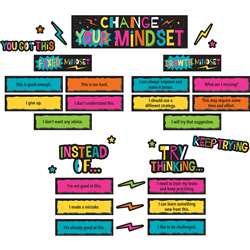 Change Your Mindset Mini Bulletin Board St, TCR8883