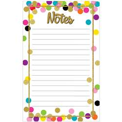 Confetti Notepad, TCR8893