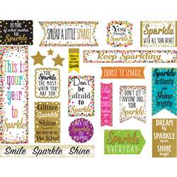 Confetti Sparkle And Shine Mini Bulletin Board, TCR8962