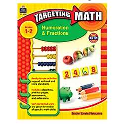 Gr 1-2 Targeting Math Numeration & Fractions By Teacher Created Resources