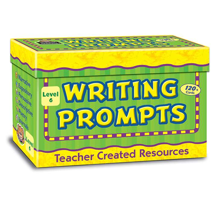 Writing Prompts Level 6 By Teacher Created Resources