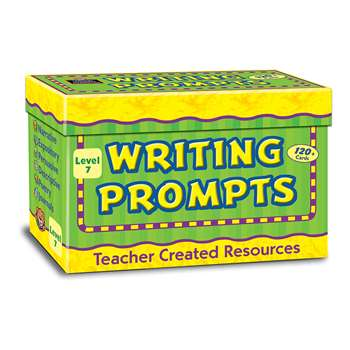Writing Prompts Grade 7 By Teacher Created Resources