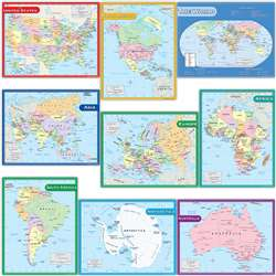 Map Charts Set 9 Charts, TCR9689