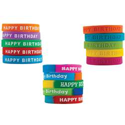Happy Birthday Wristband Class Pack, TCR9804