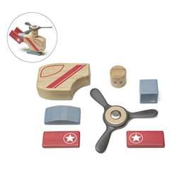 Looper Wooden Block Set, TEGLPROGL411T