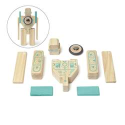 Magbot Wooden Block Set, TEGMGBTL1405T