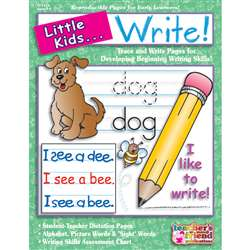 Little Kids Can Write Ages 3-6 By Teachers Friend