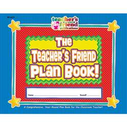 Gr K-5 The Back To School Plan Book 40 Weeks 9-1/2 X 12 By Teachers Friend