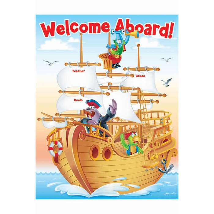 Sea Adventure Welcome Chart Gr Pk-5 By Teachers Friend