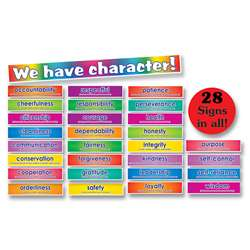 Bb Set Character Signs 28 Signs By Teachers Friend