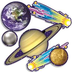 Accent Punch-Outs Solar System 36Pk By Teachers Friend