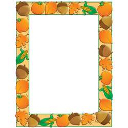 Design Paper Autumn Harvest 50 Sht 8-1/2 X 11 By Teachers Friend