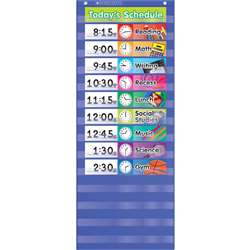 Daily Schedule Pocket Chart Gr K-5 By Teachers Friend