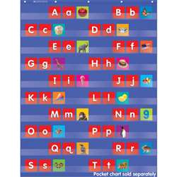 Alphabet Pocket Chart Add Ons Upper And Lowercase Letters By Teachers Friend