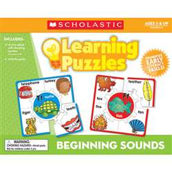 Beginning Sounds Learning Puzzles By Teachers Friend