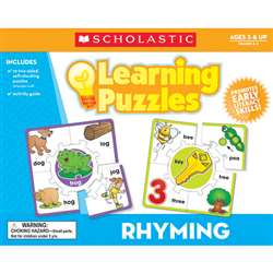 Rhyming Learning Puzzles By Teachers Friend