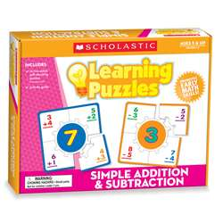 Simple Addition & Subtraction Boxed Kits-Puzzles By Teachers Friend