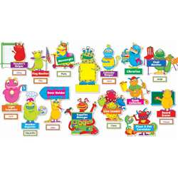 Monsters At Work Bulletin Board Set Gr Pk-5 By Teachers Friend