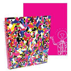 Shop Stylez Confetti 70 Pg Spiral Notebook - Tkd04285 By Axis Group
