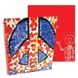 Shop Stylez Peace Out 70 Pg Spiral Notebook - Tkd04286 By Axis Group