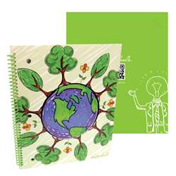 Shop Stylez Sprout 70 Pg Spiral Notebook - Tkd04287 By Axis Group