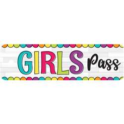 Diy Dots Girls Pass Plastic, TOP10174