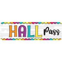 Diy Dots Hall Pass Plastic, TOP10175