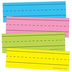 Magnetic Word Strips Bright Asrtd, TOP10457