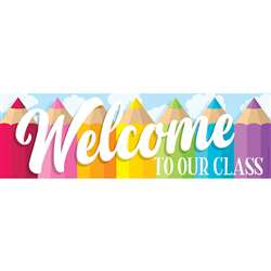 Magnetic Welcome Banner Colored Pencils, TOP10596