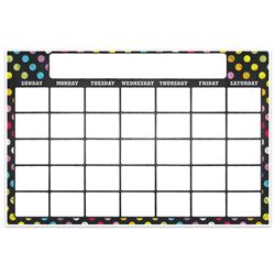 Magnetic W&W Calendar Neon Chalk 12X18, TOP10604