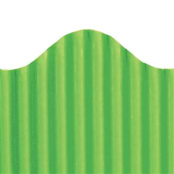 Corrugated Border Granny Green, TOP21008