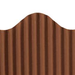 Corrugated Border Brown, TOP21011