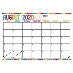 Diy Dots Desk Calendar/Academic Yr, TOP3009