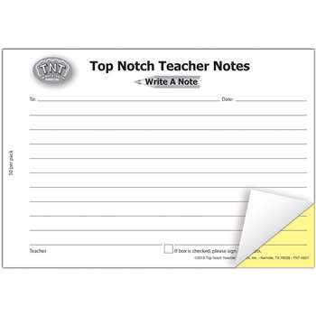 Write A Note - Top4921 By Top Notch Teacher Products