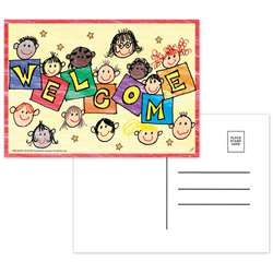 Welcome To Our Class Postcards - Top5109 By Top Notch Teacher Products
