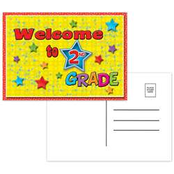 Postcards Welcome To 2Nd Grade - Top5118 By Top Notch Teacher Products