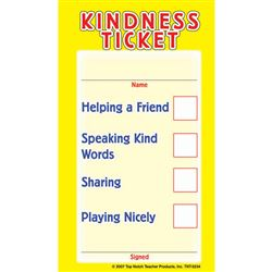 Kindness Tickets, TOP5234