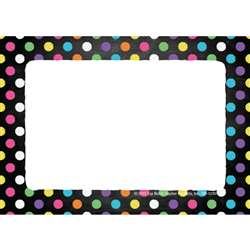 Name Tags Chalkboard Dots, TOP5280