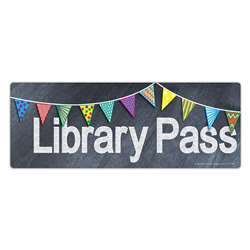 Chalkboard Pass Library Pass, TOP5303