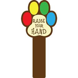 Handy Signs Raise Your Hand - Top5368 By Top Notch Teacher Products
