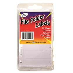 File Folder Labels 154 Ct Clamshell, TPG458